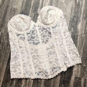 Beautiful lace lingerie 34A